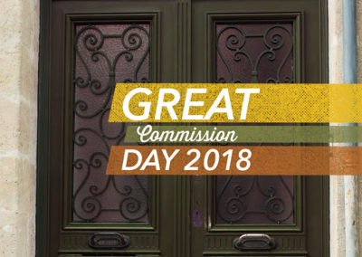 Great Commission Day 2018