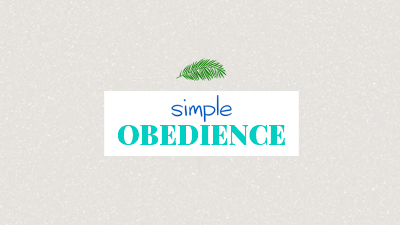 Simple Obedience